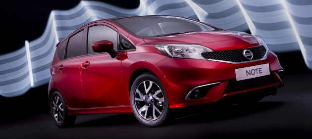 Nissan Note 2013 exterior