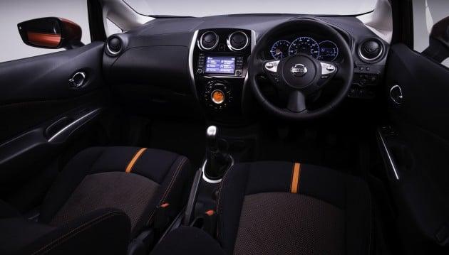 Nissan Note 2013 interior