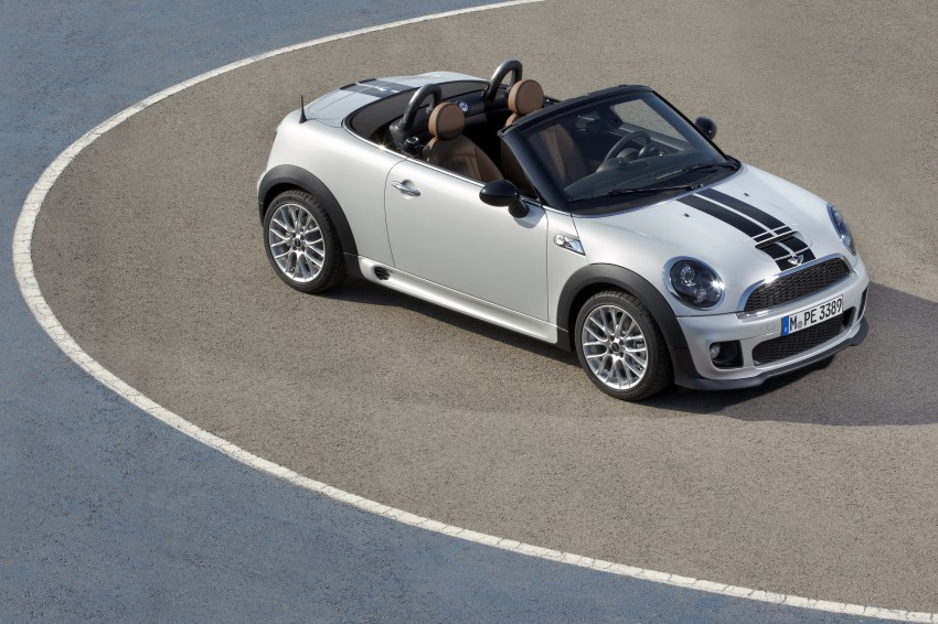 MINI Roadster – production drop top MINI Coupe unveiled! Image #74975