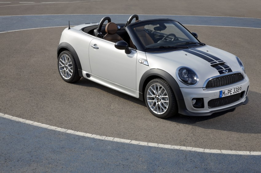 MINI Roadster – production drop top MINI Coupe unveiled! Image #74976