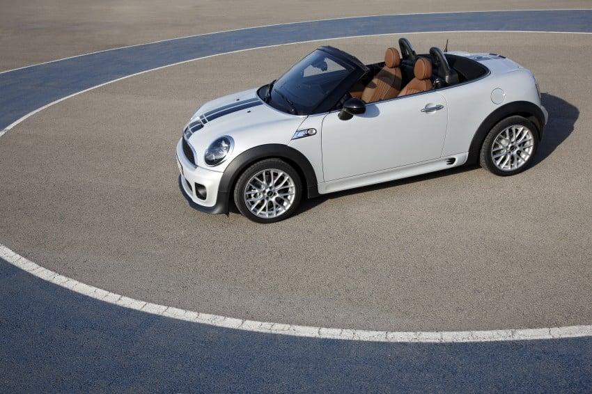 MINI Roadster – production drop top MINI Coupe unveiled! Image #74977