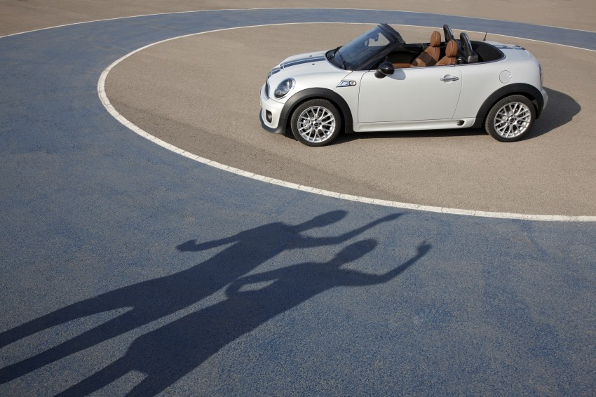 MINI Roadster – production drop top MINI Coupe unveiled! Image #74978