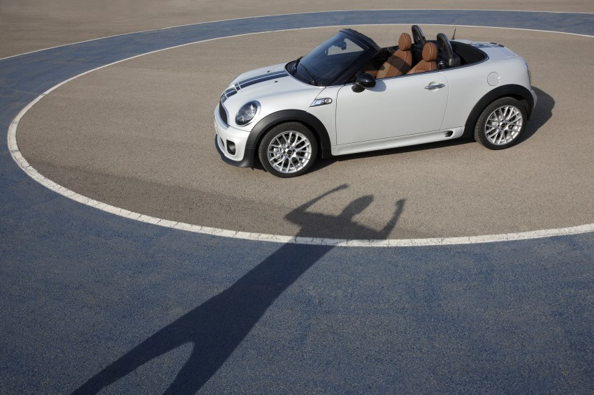 MINI Roadster – production drop top MINI Coupe unveiled! Image #74979