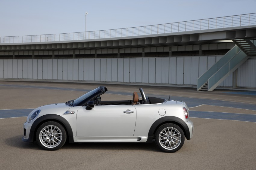 MINI Roadster – production drop top MINI Coupe unveiled! Image #74980