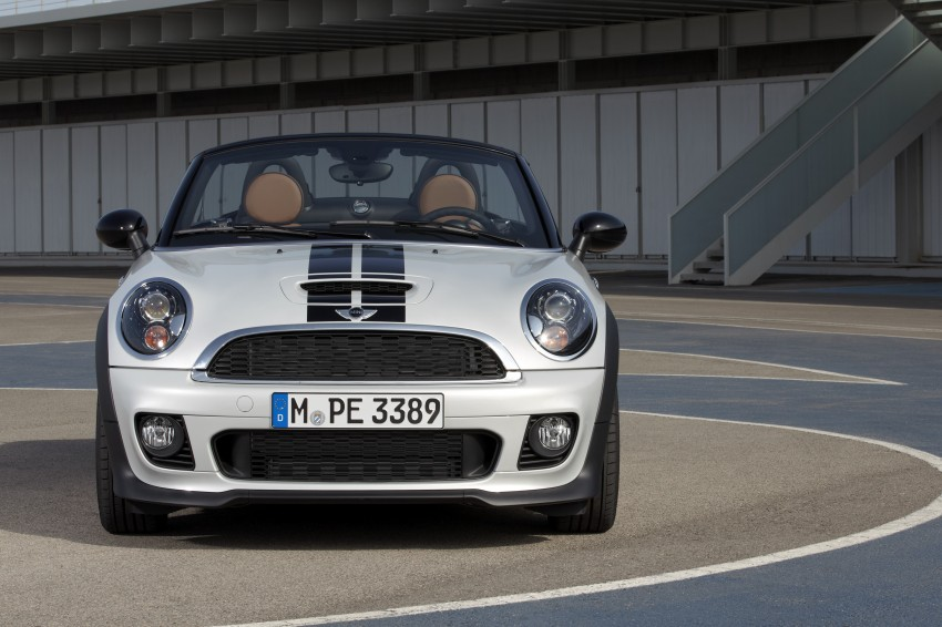 MINI Roadster – production drop top MINI Coupe unveiled! Image #74981