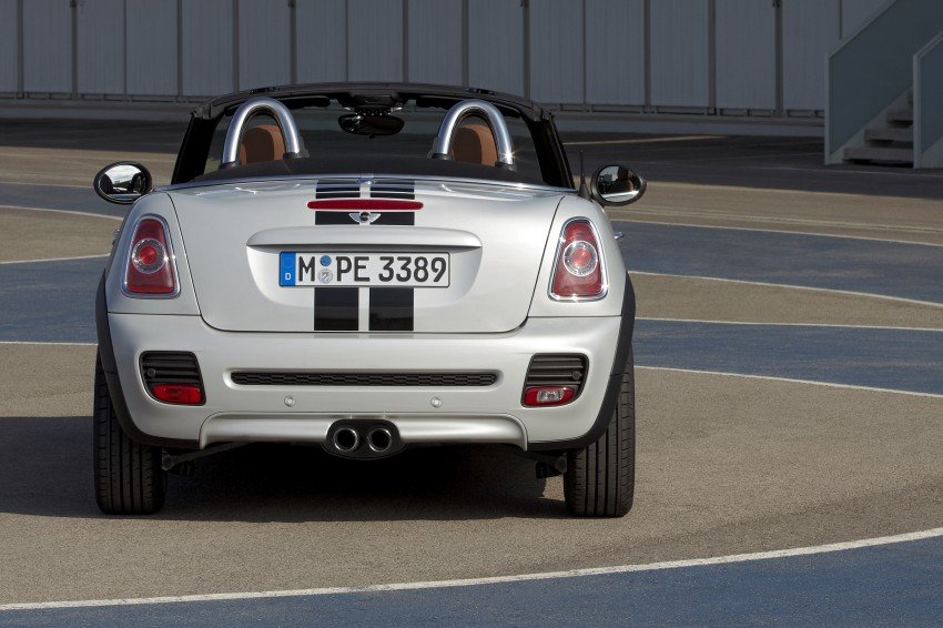 MINI Roadster – production drop top MINI Coupe unveiled! Image #74982