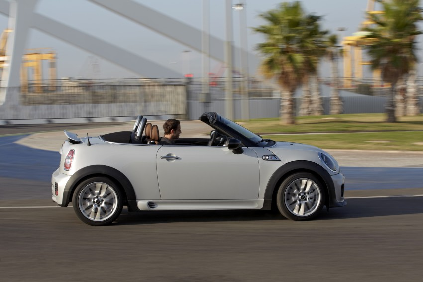 MINI Roadster – production drop top MINI Coupe unveiled! Image #74984