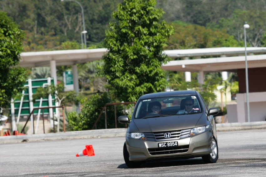 Shell Helix D-Academy: 42 participants walked away as better drivers! Image #88670
