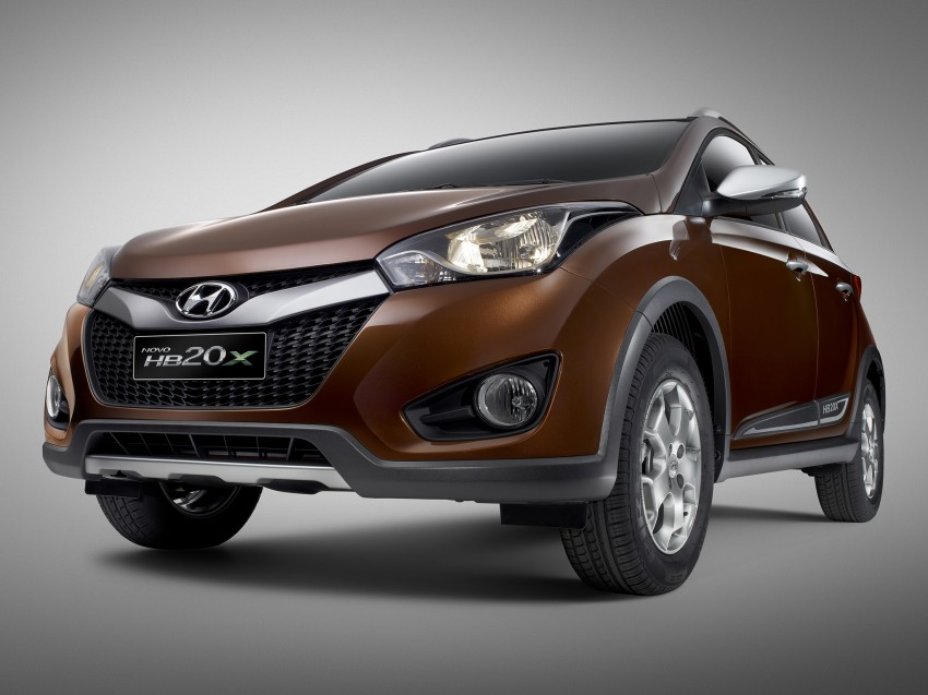 Hyundai HB20X crossover joins the Brazilian line-up Image #137765