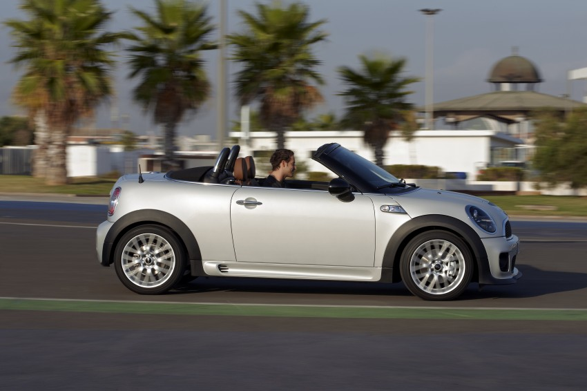MINI Roadster – production drop top MINI Coupe unveiled! Image #74985