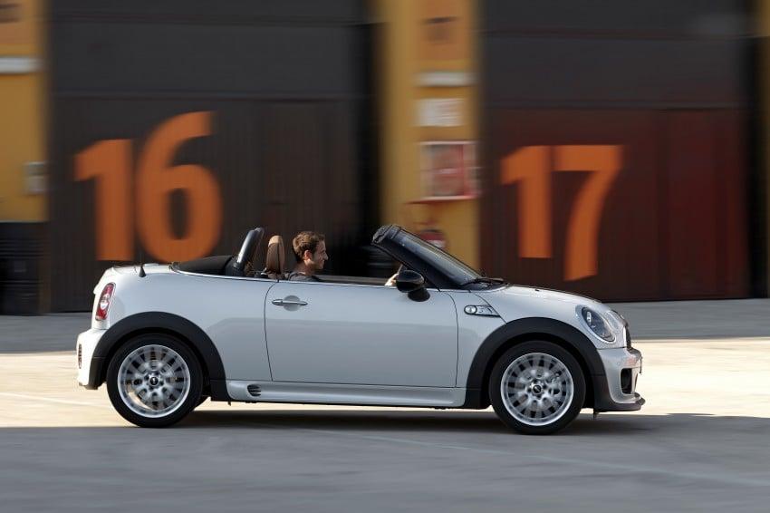 MINI Roadster – production drop top MINI Coupe unveiled! Image #74987