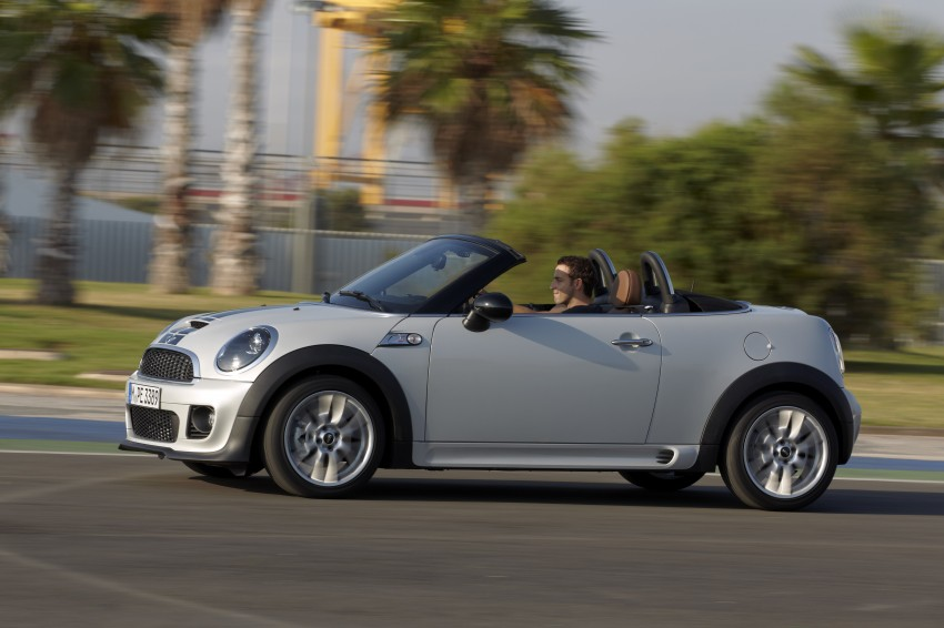MINI Roadster – production drop top MINI Coupe unveiled! Image #74988