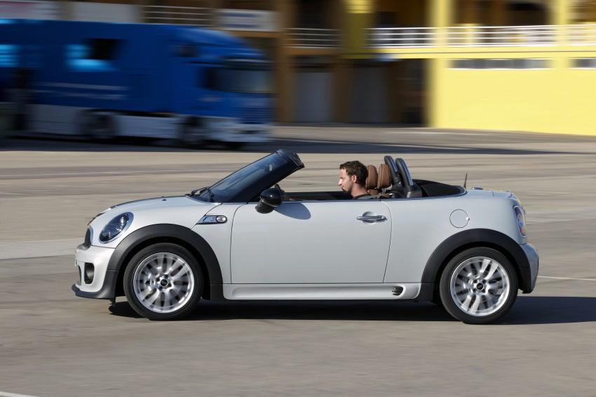 MINI Roadster – production drop top MINI Coupe unveiled! Image #74989
