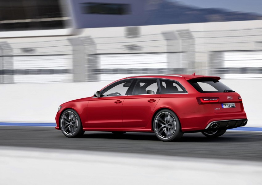 Audi RS 6 Avant – 560 PS, 0-100 km/h in 3.9 seconds Image #144858