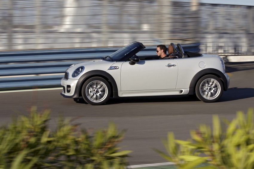 MINI Roadster – production drop top MINI Coupe unveiled! Image #74990