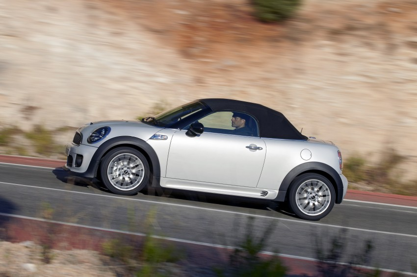 MINI Roadster – production drop top MINI Coupe unveiled! Image #74991