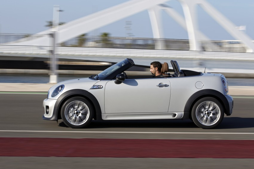 MINI Roadster – production drop top MINI Coupe unveiled! Image #74992