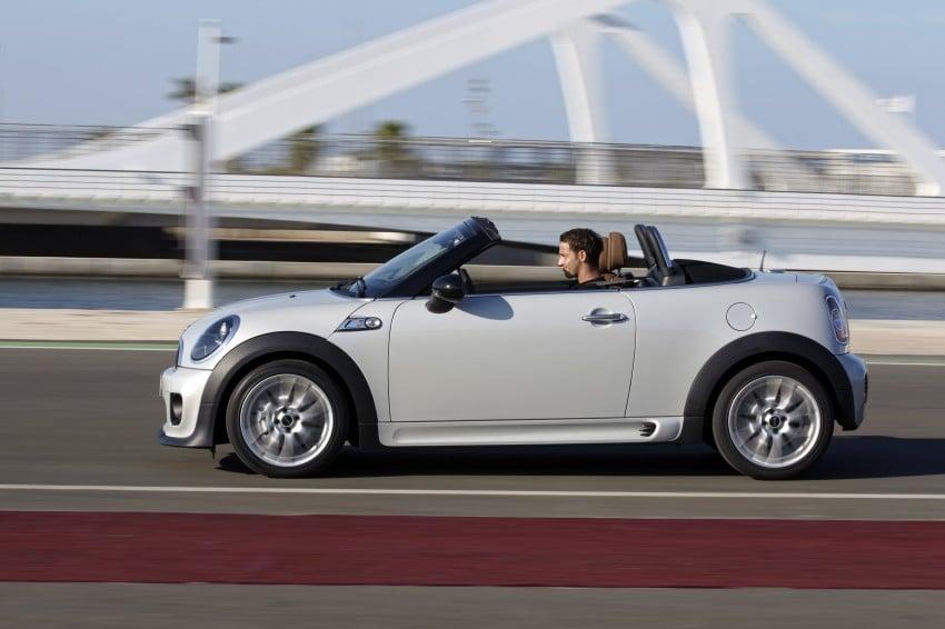 MINI Roadster – production drop top MINI Coupe unveiled! Image #74992