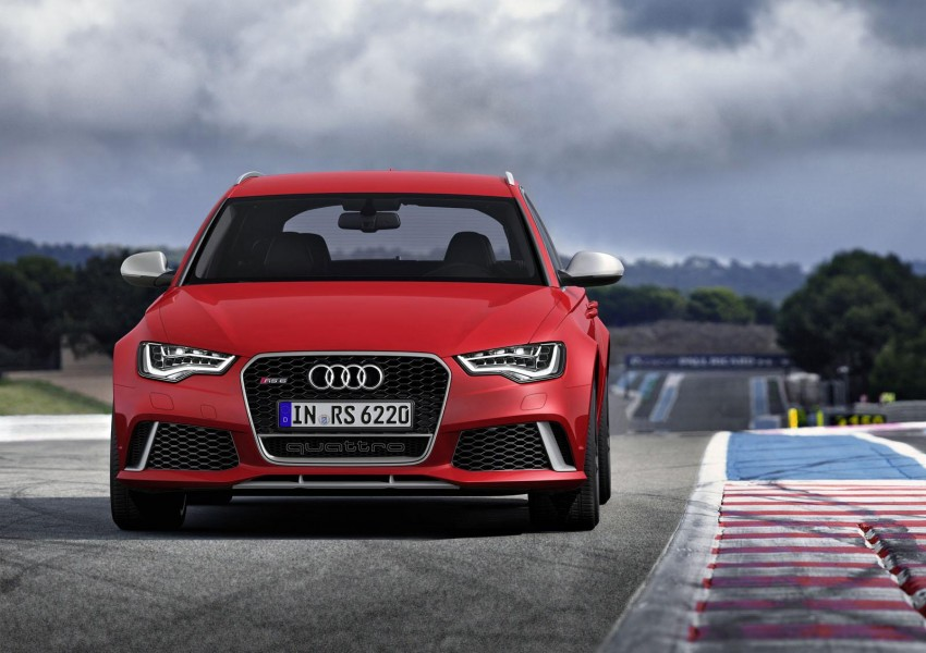 Audi RS 6 Avant – 560 PS, 0-100 km/h in 3.9 seconds Image #144856