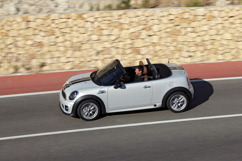 MINI Roadster – production drop top MINI Coupe unveiled! Image #74993