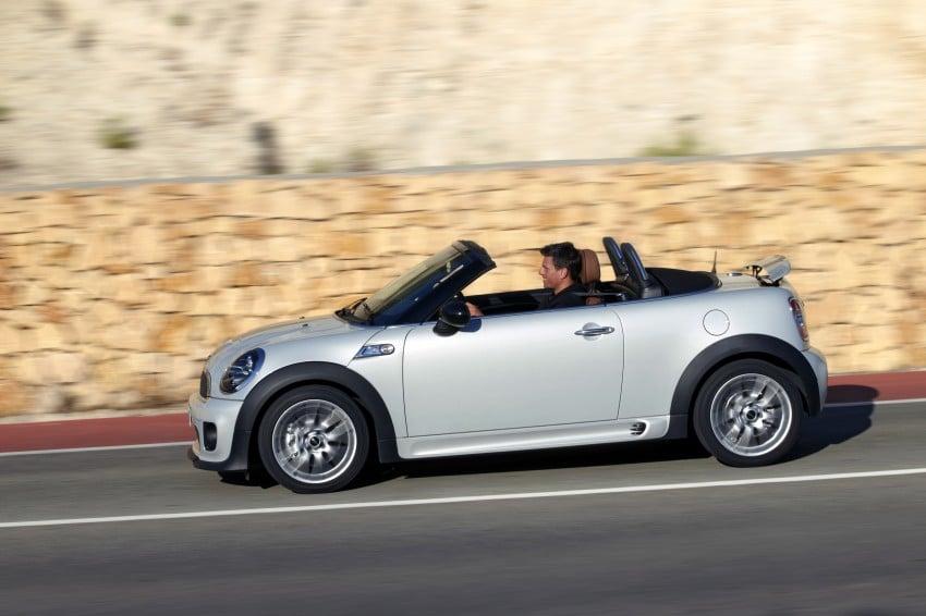 MINI Roadster – production drop top MINI Coupe unveiled! Image #74995
