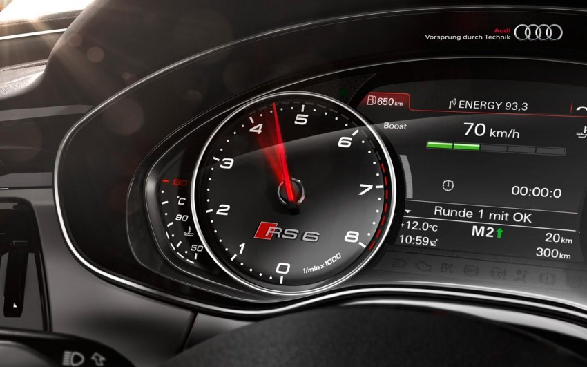 Audi RS 6 Avant – 560 PS, 0-100 km/h in 3.9 seconds Image #144861