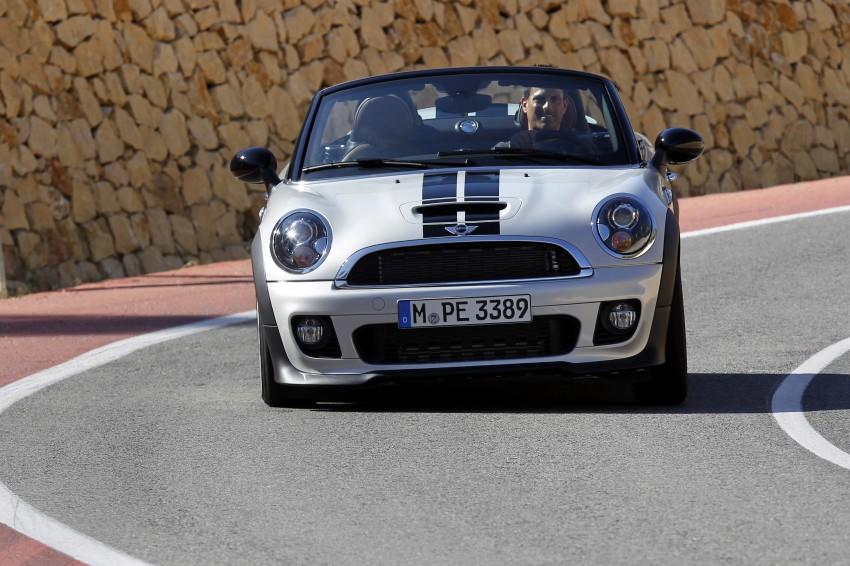 MINI Roadster – production drop top MINI Coupe unveiled! Image #74996