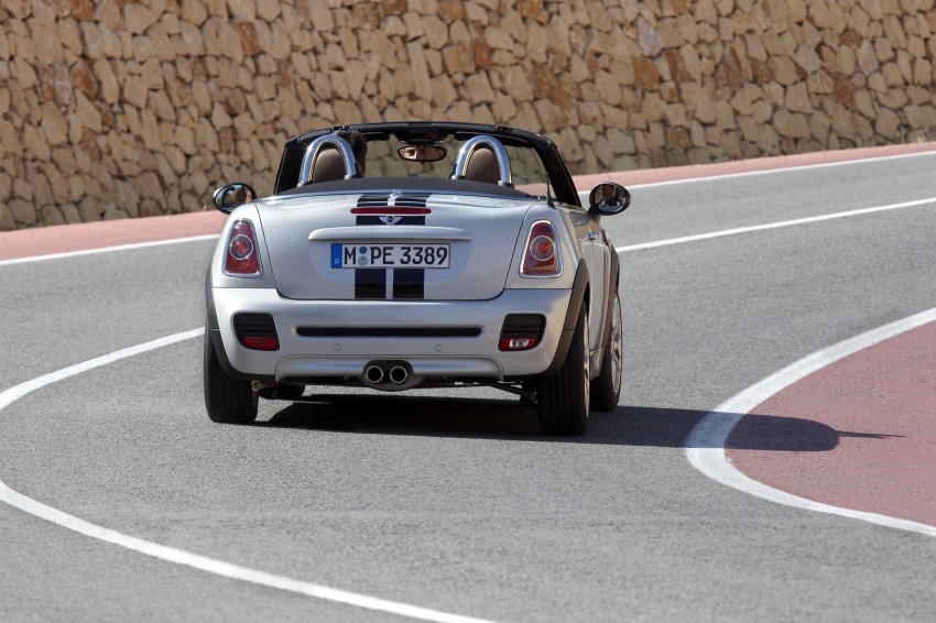 MINI Roadster – production drop top MINI Coupe unveiled! Image #74997