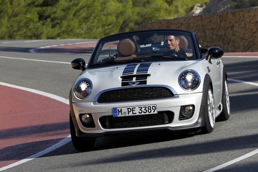 MINI Roadster – production drop top MINI Coupe unveiled! Image #74998