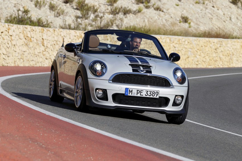 MINI Roadster – production drop top MINI Coupe unveiled! Image #74999