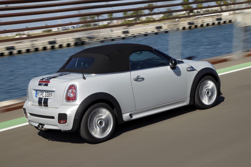 MINI Roadster – production drop top MINI Coupe unveiled! Image #75000