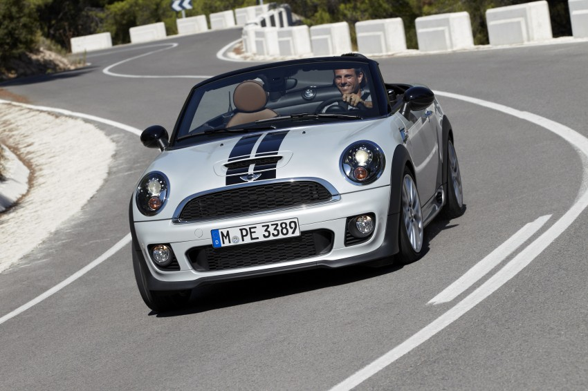 MINI Roadster – production drop top MINI Coupe unveiled! Image #75001