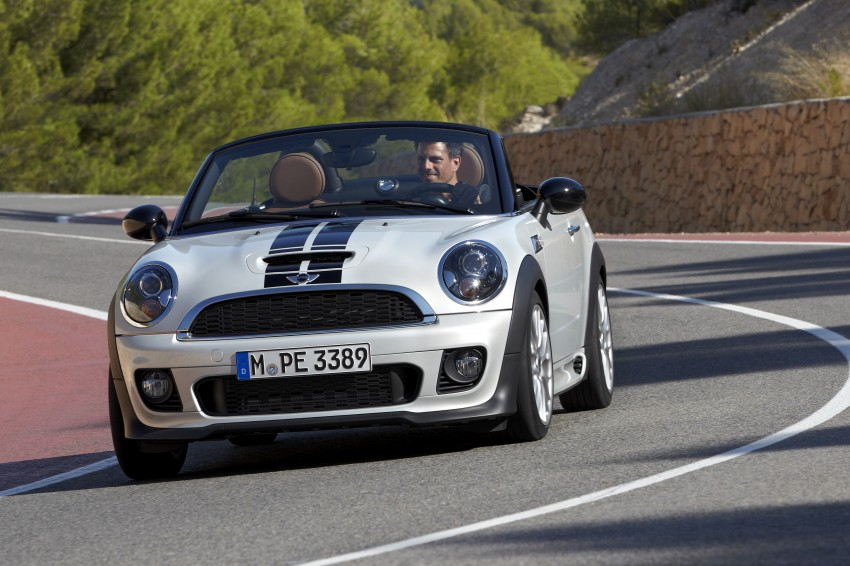 MINI Roadster – production drop top MINI Coupe unveiled! Image #75002