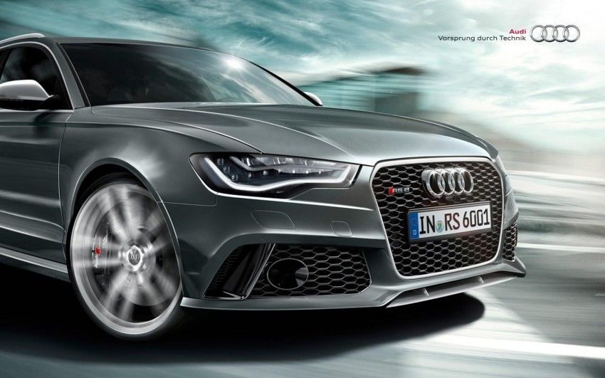 Audi RS 6 Avant – 560 PS, 0-100 km/h in 3.9 seconds Image #144866