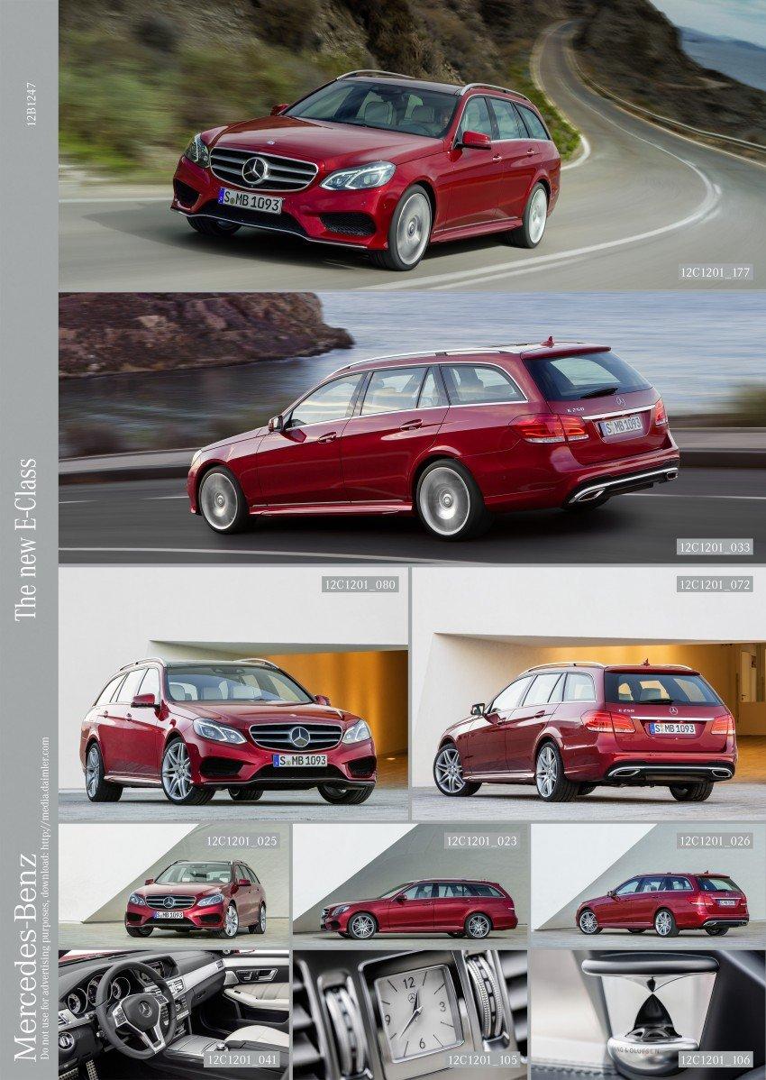 W212 Mercedes-Benz E-Class Facelift unveiled Image #146009