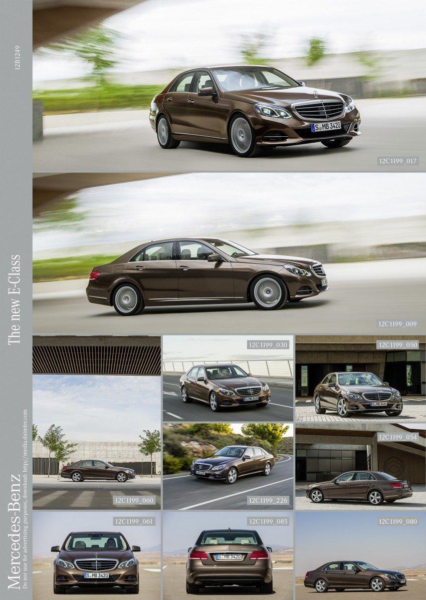 W212 Mercedes-Benz E-Class Facelift unveiled Image #146011