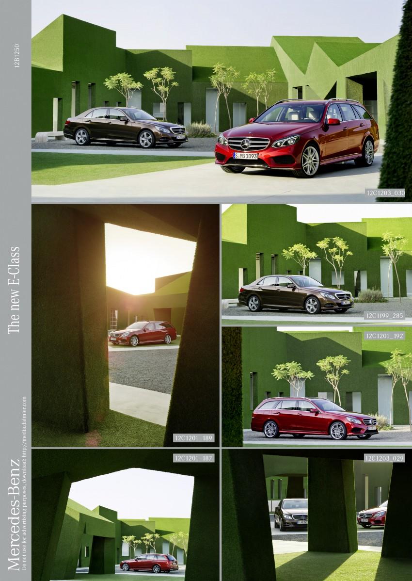 W212 Mercedes-Benz E-Class Facelift unveiled Image #146012