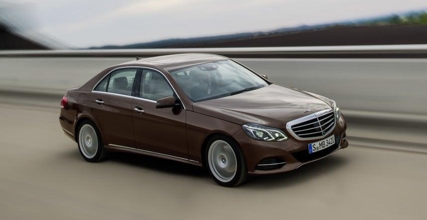 W212 Mercedes-Benz E-Class Facelift unveiled Image #146007