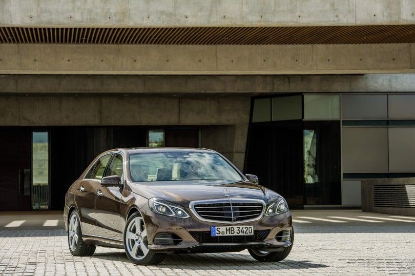 W212 Mercedes-Benz E-Class Facelift unveiled Image #146005