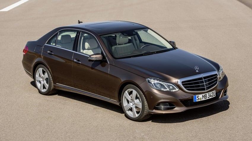 W212 Mercedes-Benz E-Class Facelift unveiled Image #146000