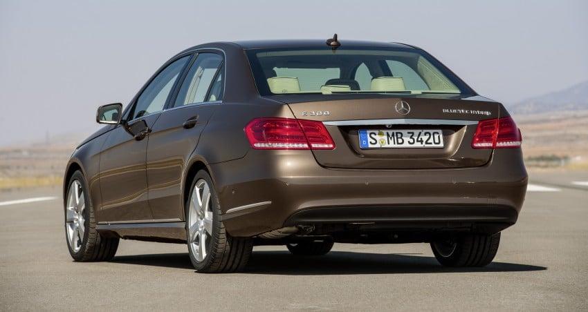 W212 Mercedes-Benz E-Class Facelift unveiled Image #145997