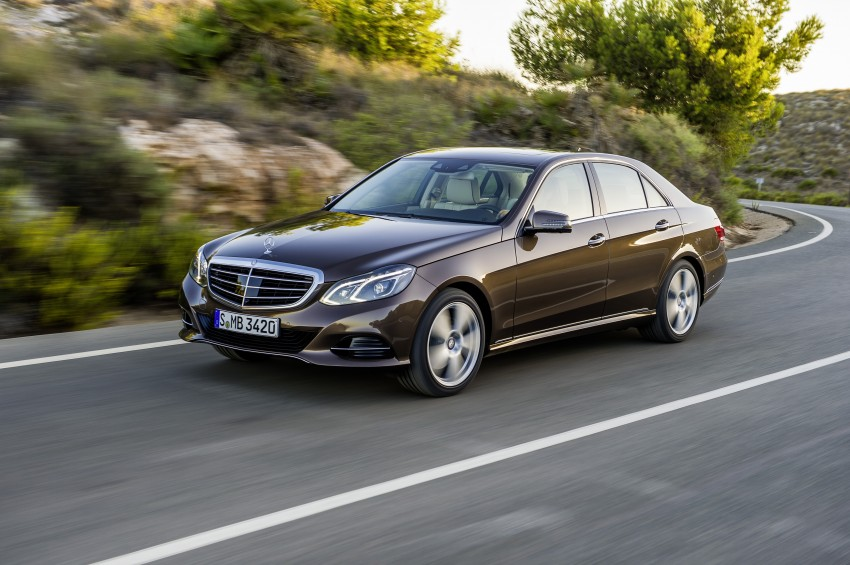 W212 Mercedes-Benz E-Class Facelift unveiled Image #145986