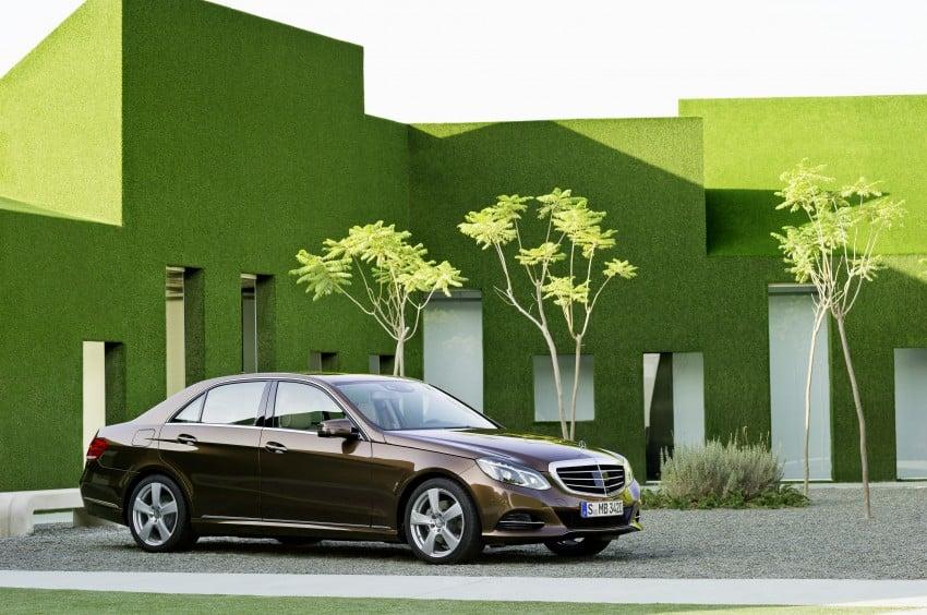 W212 Mercedes-Benz E-Class Facelift unveiled Image #145984
