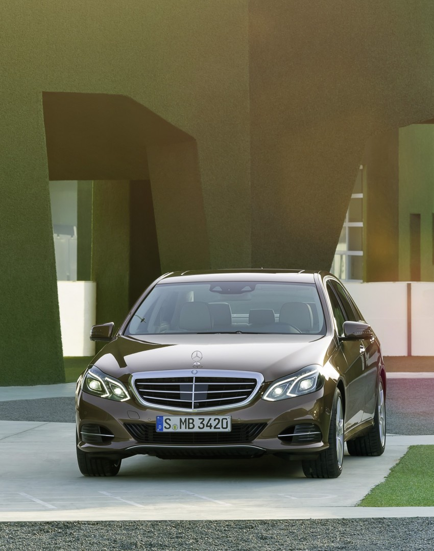 W212 Mercedes-Benz E-Class Facelift unveiled Image #145983