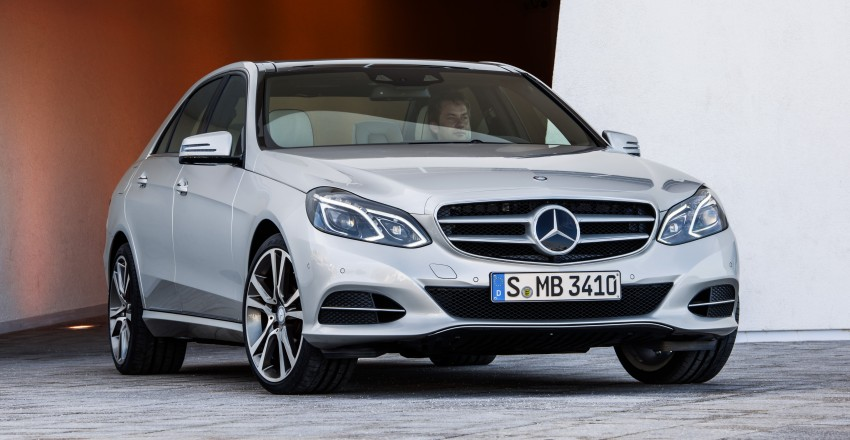W212 Mercedes-Benz E-Class Facelift unveiled Image #145979