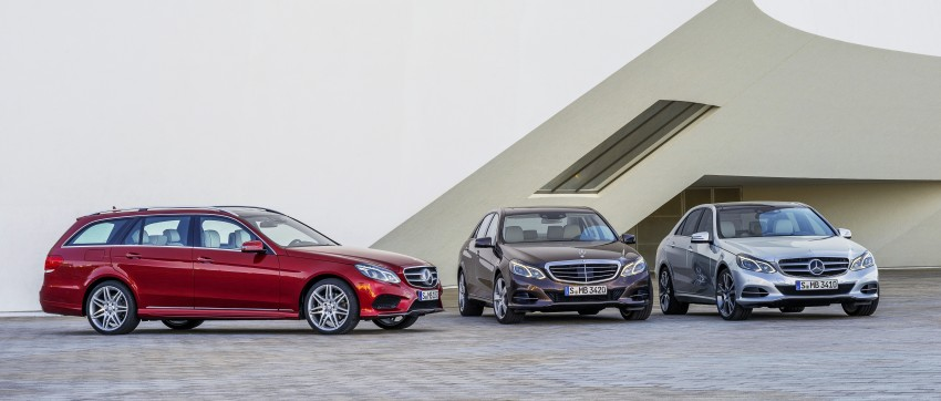 W212 Mercedes-Benz E-Class Facelift unveiled Image #145942