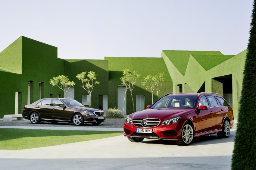 W212 Mercedes-Benz E-Class Facelift unveiled Image #145941