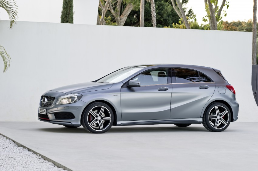 DRIVEN: Mercedes-Benz A-Class W176 – the A 200, A 250 and A 250 Sport sampled in Slovenia Image #121740