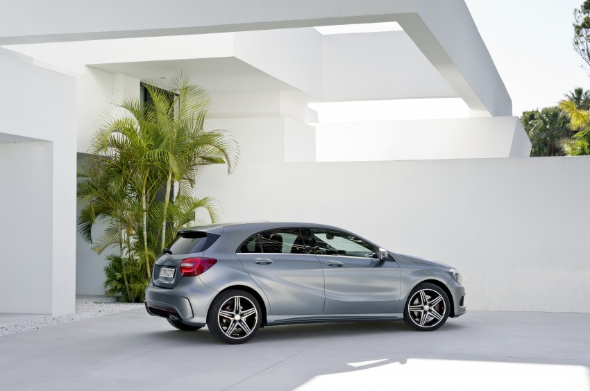 DRIVEN: W176 Mercedes-Benz A-Class – we sample the A200, A250 and A250 Sport in Slovenia Image #121742