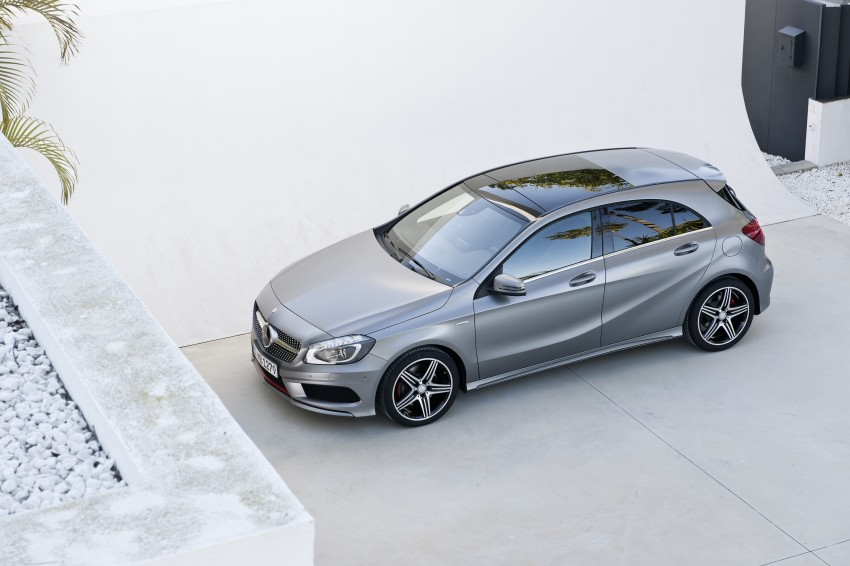 DRIVEN: W176 Mercedes-Benz A-Class – we sample the A200, A250 and A250 Sport in Slovenia Image #121744
